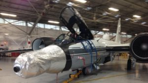 NASA WB-57 aircraft