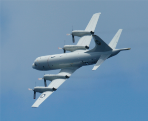 Cast Glance navy p-3 aircraft