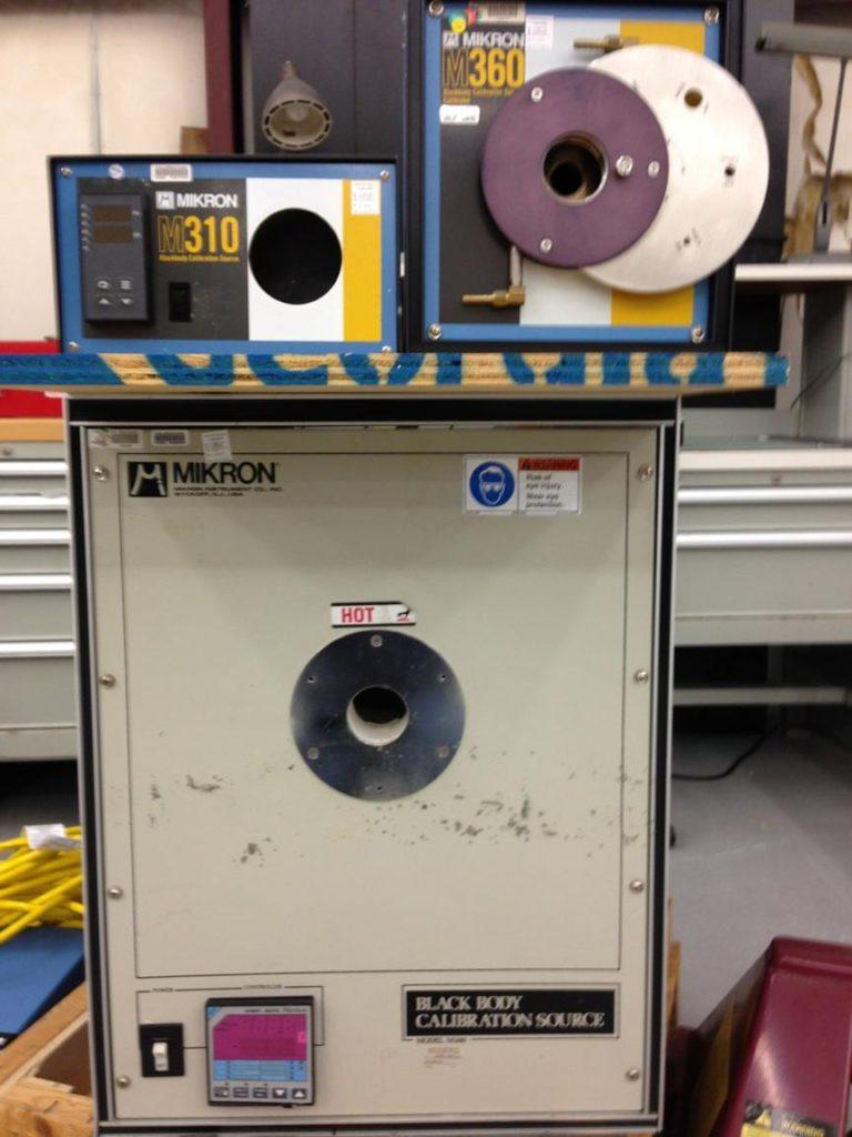 Black body radiator used for instrument calibration