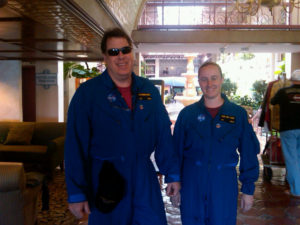 Members of the HYTHIRM team suited up for the mission