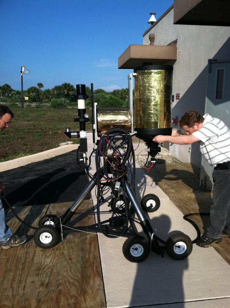 MARS ground based system telescope