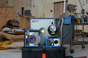 Black body radiator equipment used for calibration