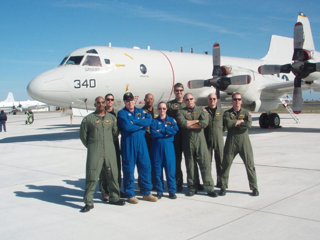 Crew of the Navy P-3