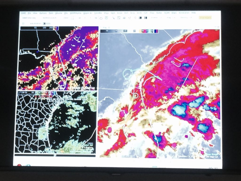 Real time meteorological data helps with mission planning